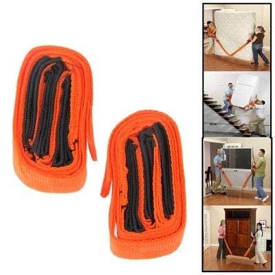 Family Needs Moving artefact te bedienen met een bewegende band verplaatsen van meubilair zware voorwerpen koelkast draagriem bewegende band gereedschap touw individuele dubbele mensen die schouderban