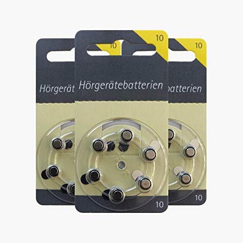 60 Hörex appareils auditifs piles taille 10