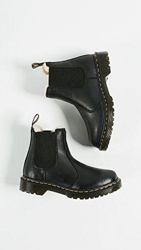 Dr. Martens Women's Leonore Burnished Wyoming Leather Fashion Boot