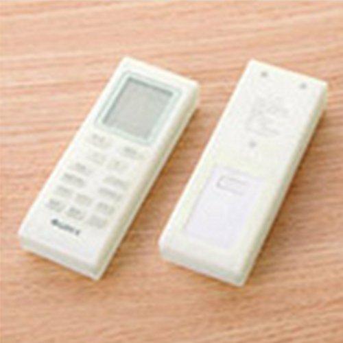 Funda protectora de silicona universal impermeable para el control remoto de TV Funda protectora para aire acondicionado Equipo de TV Herramientas a prueba de polvo(12.4cm por 4.5cm por 2.2cm)