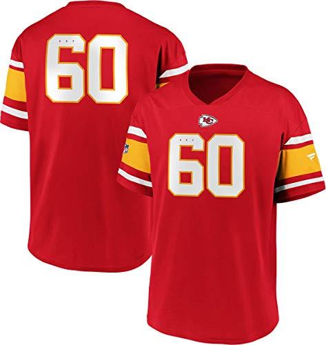 Fanatics NFL Kansas City Chiefs Trikot Shirt Iconic Franchise Poly Mesh Supporters Jersey (S)