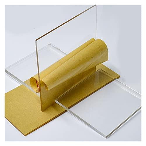 WEISHAN 200 * 200 mm Plexiglás Clear Acrylic Pondlex Hoja de plástico...