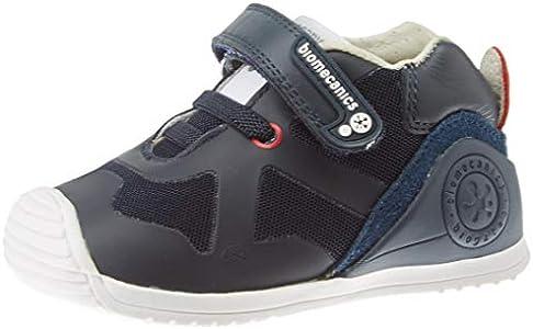 Biomecanics 191168, Zapatillas de Estar por casa Unisex niños, Azul (Azul Marino (Rejilla) Paprika), 19 EU