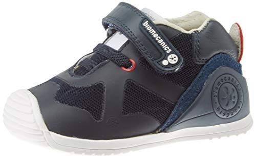 Biomecanics 191168, Zapatillas de Estar por casa Unisex niños, Azul (Azul Marino (Rejilla) Paprika), 21 EU