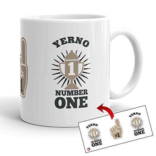 Kembilove Tazas Familiares – Preciosas Tazas para Toda la Familia – Tú Eres El Yerno Número Uno – Magníficas Tazas de Café para Hombres y Mujeres – Regalos Divertidos para Familiares y Amigos