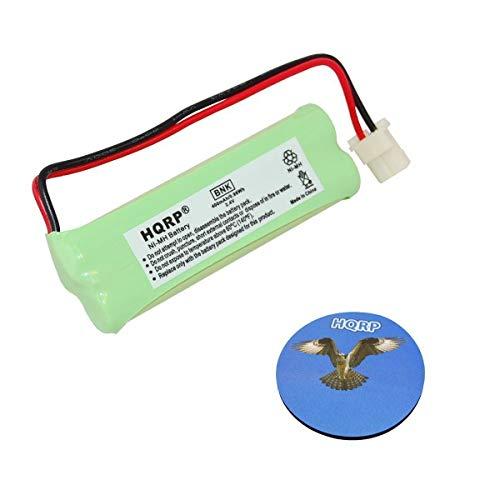 HQRP Batería Recargable para VTech BT183482 / BT283482 / 89-1348-01 / RadioShack 43-085/43-086/43-395 Teléfono inalámbrico + HQRP Posavasos