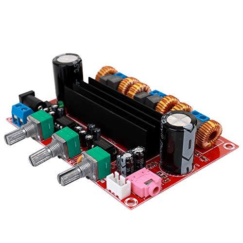 KKmoon 4,2 Kanal Digital Subwoofer Endstufe TPA3116D2 2 * 50 Watt + 100 Watt ¡