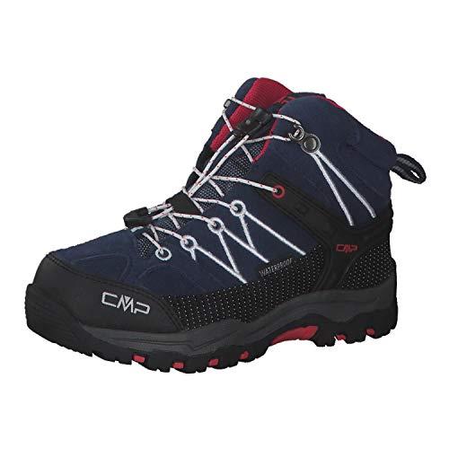CMP Rigel Mid, Zapatos de High Rise Senderismo Unisex Niños, Azul (Marine-Corallo...
