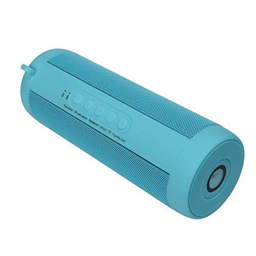 Altavoz Bluetooth 5.0Speaker Subwoofer Wireless, Bajo, DE Audio Estéreo 360, 10Horas de Juegos, micrófono Incorporado, Resistente al Agua