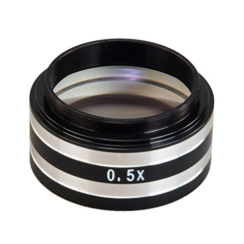 OMAX 0.5X Auxiliary Objective Lens for Bausch & Lomb Microscope D38mm