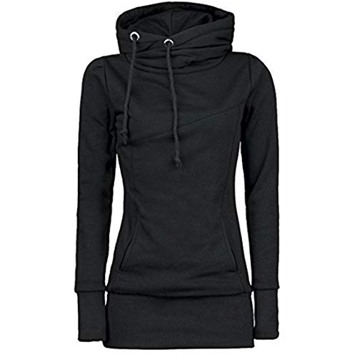 Hoodie Women Elegant Slim Cozy Long Sleeves Warm Long Sweater Autumn and Winter New Casual Fashion All-Match Women Hoodie with Pockets XXL