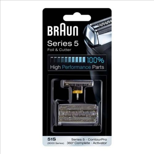 Price comparison product image Braun 8000 Activator Combi-Pack Foil and Cutterblock Replacement Parts for Braun's Activator Razor Models 8595 and 8585