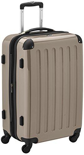 Hauptstadtkoffer Alex Trolley rígido con cierre TSA, 74 litros, 65 x 41 x 26 cm, Beige