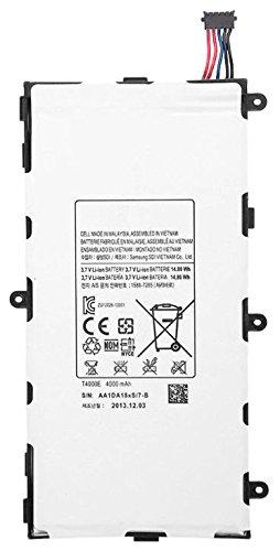 SAMSUNG BT-BAT-T4000E Original Batteria T4000E 4000Mah per Galaxy Tab 3 T210, Bianco