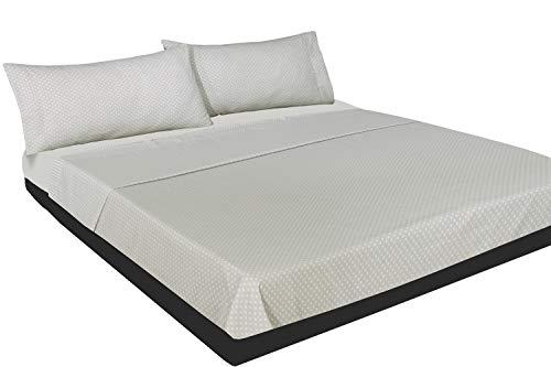 Montse Interiors, S.L. Juego de sábanas Estampado corbatero (sín Bajera) (MAX, para Cama de 90x190/200)