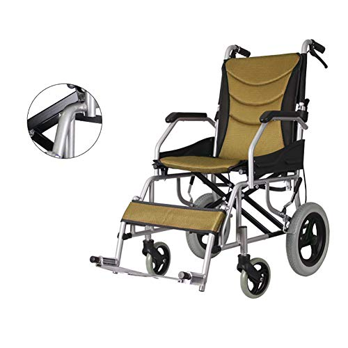 For Sale! Self Propelled Wheelchair Net Weight Only 10 KG, Ultra Lightweight Folding with handbrakes...