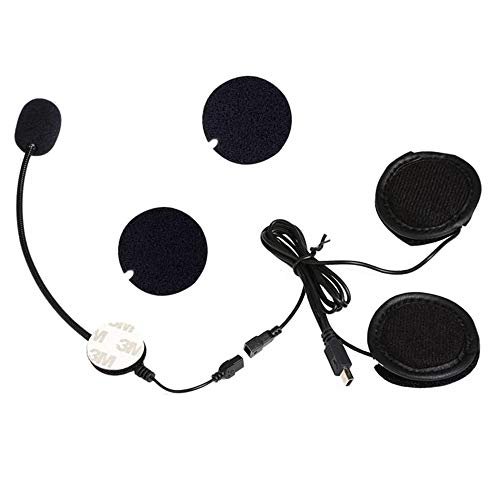 VNETPHONE® Microphone Headphone Headset for V8 Motorcycle Helmet Bluetooth Interphone Intercom