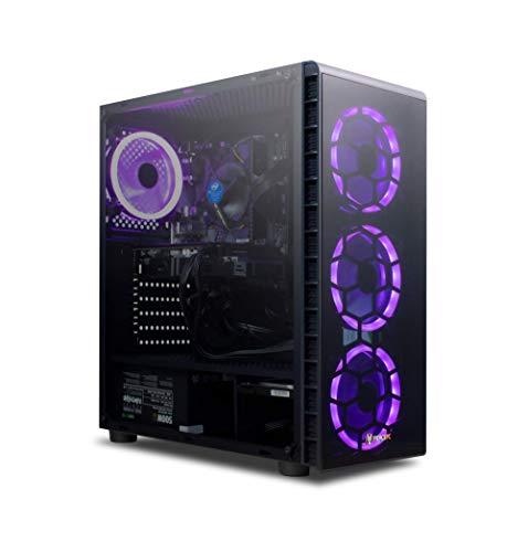 Fierce High FPS Gaming PC: Intel Core i5 9400F Six-Core CPU, NVIDIA RTX 2060 6GB GPU, 16GB 3000MHz DDR4 RAM, 240GB SSD, 1TB HDD, Windows 10, WIFI