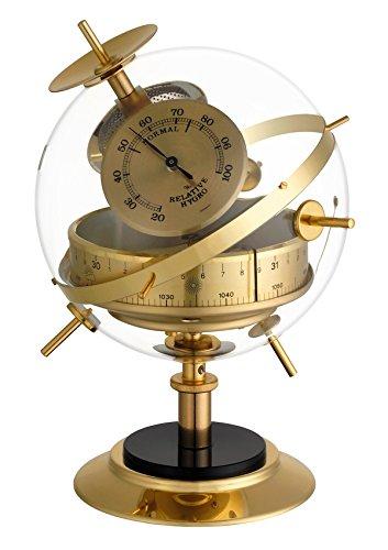 TFA Dostmann Sputnik Analoge Wetterstation, mit Barometer, Thermometer, Hygrometer, Wettervorhersage