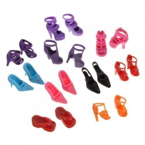 fat-catz-copy-catz 50 Pairs Chaussures Haut Talent pour poupée Barbie