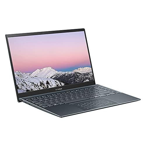 "ASUS ZenBook 14 UM425 Full HD 14"" Ultrabook Laptop (AMD Ryzen 5-4500U, 8GB RAM, 512GB SSD, Backlit Keyboard, Windows 10) Includes LED Number Trackpad"