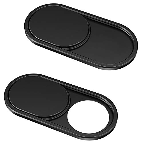 CloudValley Webcam Cover Slide[2-Pack], 0.023 Inch Ultra-Thin Metal Web...