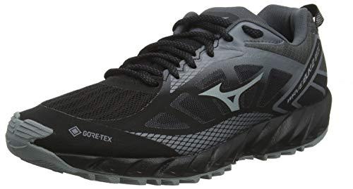 Mizuno Wave Ibuki 2 GTX, Zapatillas de Running para Asfalto para Mujer, Negro (Black/Monument/Shadow 37), 41 EU