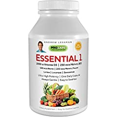 100% PURE, HIGHEST POTENCY ONCE DAILY VITAMIN AVAILABLE! The most effective, stomach-friendly alternative to the low potency, artificial colors, additives and digestive problems experienced with typical daily multivitamins. While no single one a day ...