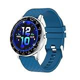 GAOYUAN H30 Reloj Inteligente Hombres DIY Cara Full Touch Fitness Tracker Frecuencia Cardíaca Presión Arterial Reloj Inteligente Mujeres Smartwatch para Xiaomi