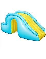 Opblaasbare Glijbaan Voor Kinderen, Opblaasbare Zwembad Glijbaan Voor Outdoor Party, Kiddie Zwembad Glijbaan Water Speelgoed Voor Binnenplaats, 76x158cm