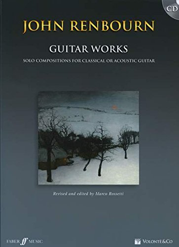 Renbourn John Guitar Works (Rossetti Marco) Guitar Book/Cd