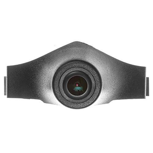 Voiture Front View caméra Logo Embarqué avant caméra Parking Étanche (Middle) pour Front View Camera Grill Embedded For Audi Q3 2016 2017