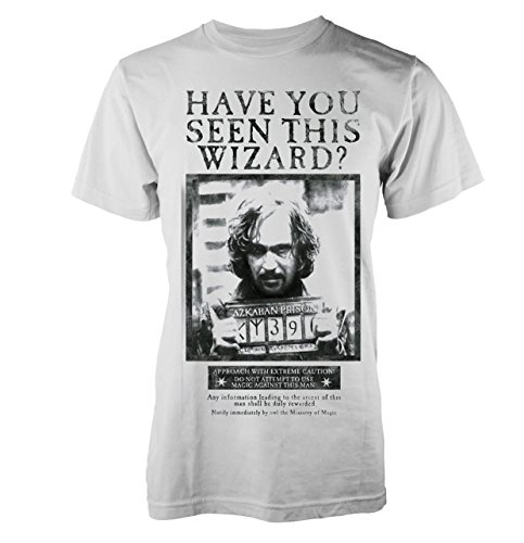 Plastic Head Harry Potter Have You Seen This Wizard T-Shirt, Blanc, XL Homme
