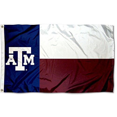College Flags & Banners Co. Texas A&M Aggies Texas State Flag