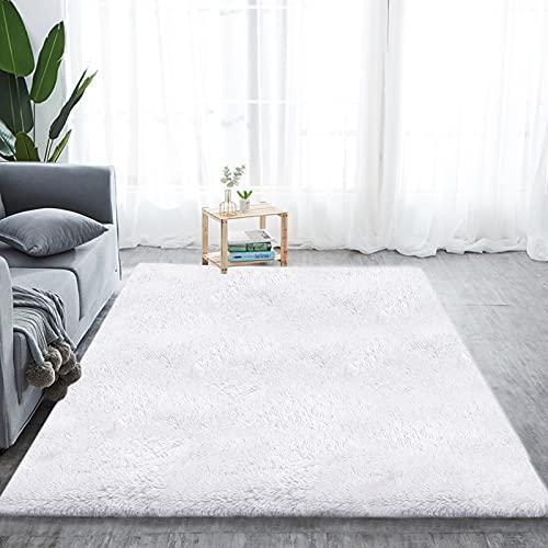 Alfombras Dormitorio Blancas alfombras dormitorio  Marca Aujelly