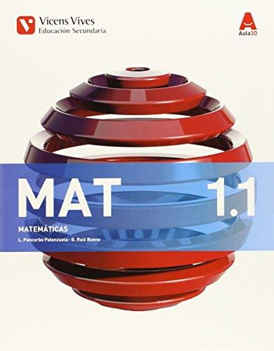 MAT 1 Trim (Matemáticas ESO) Aula 3d - 9788468230351