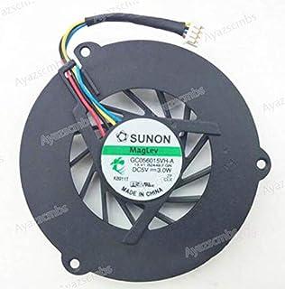 Ayazscmbs Compatibles para Delta AUB0924VH 9225 DCC 24V 0.40A 3800RPM 81.5CFM axial Servidor Inverter enfriamiento Ventilador