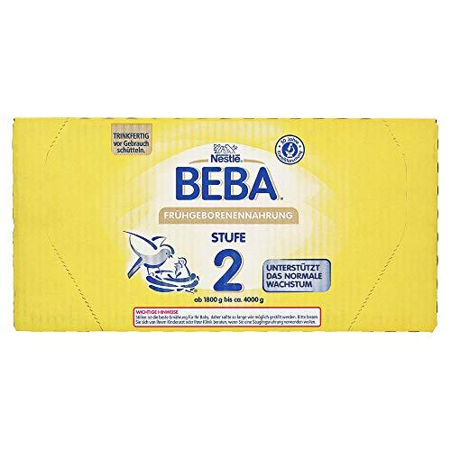Nestlé BEBA Frühgeborenennahrung Stufe 2, 32x90 ml Lösung