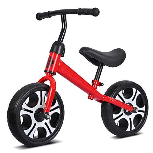 YWSZJ Bicicleta de Entrenamiento para Caminar sin Pedales para niños pequeños de 12 Pulgadas de 2-6 años con Manillar y Asiento Ajustables (Color : E)