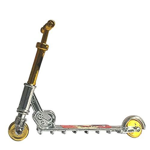 smallJUN Finger Scooter Bike - Griffbrett Skateboard - Fingerskates, Mini Scooter - Zweirad Roller Spielzeug - Kinder Lernspielzeug-B