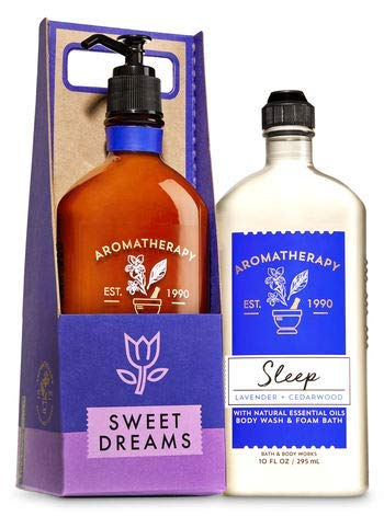 Bath and Body Works Lavender & Cedarwood Sleep Tight Gift Set.
