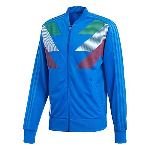 adidas Herren Italy CI TT Jacke Anoraks, Blau, 2XL