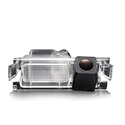 HD CCD Kofferraumgriff Rückfahrkamera Farbkamera Einparkkamera Nachtsicht und Rückfahrsystem Einparkhilfe-Wasserdicht&Stoßfest für Hyundai i30 i20 i10 Solaris/Kia Soul/ceed/Rohens coupe tiburon/K2 Rio