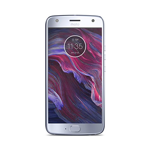 "Motorola Moto X4 - Smartphone de 5.2"" (3 GB de RAM, memoria interna de 32 GB, doble cámara de 12 y 8 MP, Bluetooth 4.2, resistente al agua y al polvo, Snapdragon 630) sterling blue - Exclusivo Amazon"