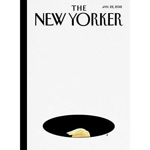 Couverture de The New Yorker, January 22nd 2018 (Alex Perry, Lizzie Widdicombe, Jill Lepore)