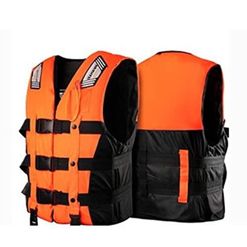 Chaquetas Y Chalecos Salvavidas Salvavidas Chaleco Flotador para Barcos Kayak Adulto Chaleco de flotabilidad Anti-inundaciones Profesional,XL