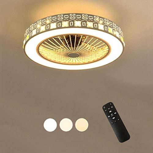 Led-plafondlamp met afstandsbediening, creatieve aanpasbare plafondlamp voor de kinderkamer, moderne hanglamp, ventilator, plafondlamp, stille slaapkamer, woonkamerverlichting