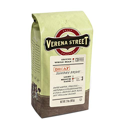 Verena Street 2 Pound Ground Coffee, Swiss...