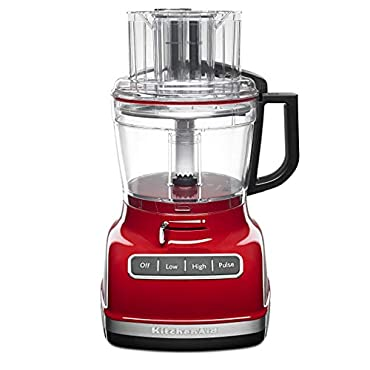 KitchenAid KFP1133ER 11-Cup Food Processor with Exact Slice System Empire Red