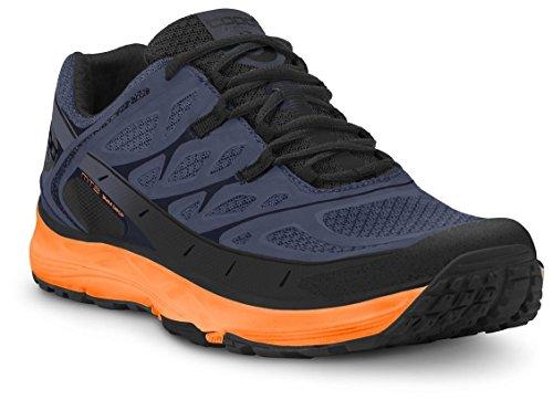 Topo Athletic MT-2 Chaussure de trail pour homme Bleu/mangue 10.5